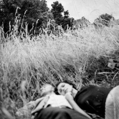Pascal Bastien, 'Couple dans l'herbe, Saint-Pierre', 2015