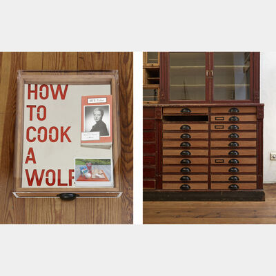 Rirkrit Tiravanija, 'untitled 2013 (how to cook a wolf)', 2013