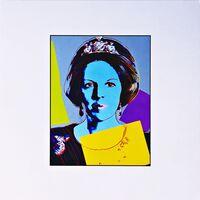 Andy Warhol, 'Queen Beatrix (Königin Beatrix) for Art Basel', ca. 1987