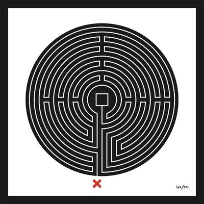 Mark Wallinger, 'Labyrinth #142 Bank', 2013