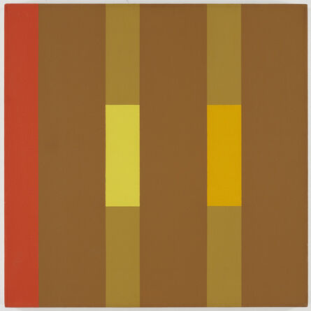 Oli Sihvonen, '3x3 (yellow, ochre, red)'