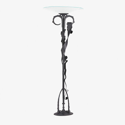 Albert Paley, 'Millennium floor lamp, edition of 30 (20 with blackened finish10 stainless), Rochester, NY', 1999