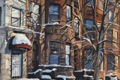 """George Nick """"50 Years of Winter Scenes"""""""
