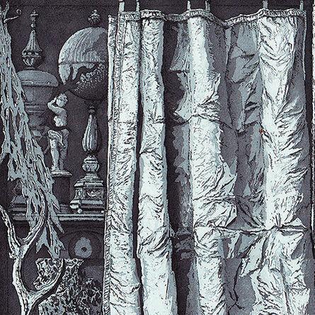"""Erik Desmazières, '""""Derrière le rideau""""', 2009"""