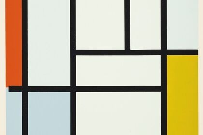 Piet Mondrian - Screenprints 1957