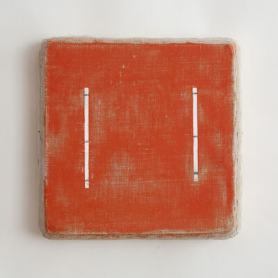 Otis Jones, 'Eight Lines, Red', 2010