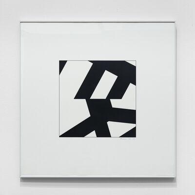 Manfred Mohr, 'P-201-25', 1977-1978