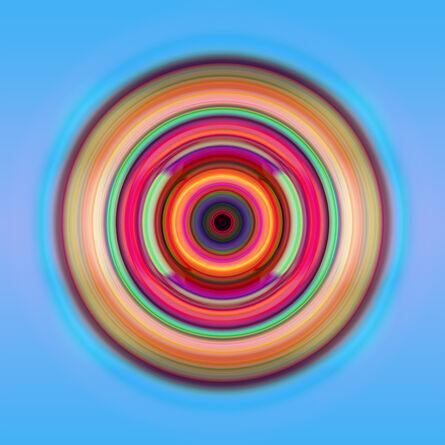 Franco DeFrancesca, 'Concentric Glow', 2015