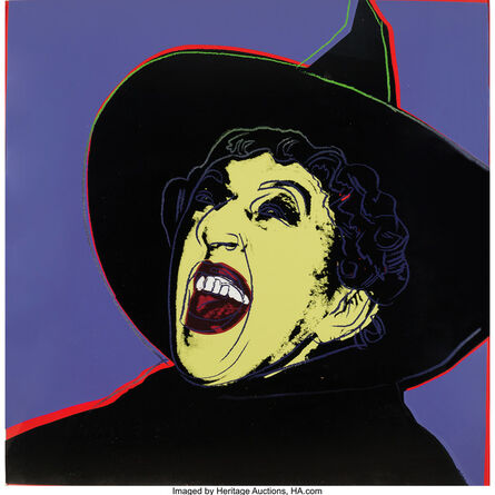 Andy Warhol, 'The Witch from the Myths portfolio', 1981