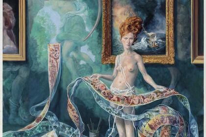 Julie Heffernan: Hotheads
