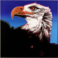 Andy Warhol, 'Bald Eagle, from Endangered Species (Feldman & Schellmann II.296)', 1983