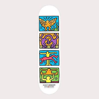 Keith Haring, 'Keith Haring Retrospect Skateboard Deck ', 2013