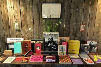 BOUND FOR GLORY: Rare Artist's Books, Catalogues & Ephemera