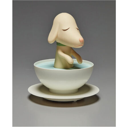 "Yoshitomo Nara, 'PUP CUP ""THE LONESOME PUPPY""', 2003"