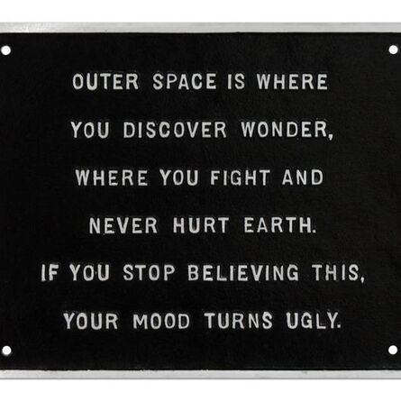 Jenny Holzer, 'Untitled (selection from survival series)', 1983-1985