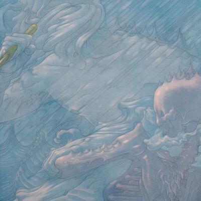 Mengfei Wang, 'The Boat Has Passed 6', 2014