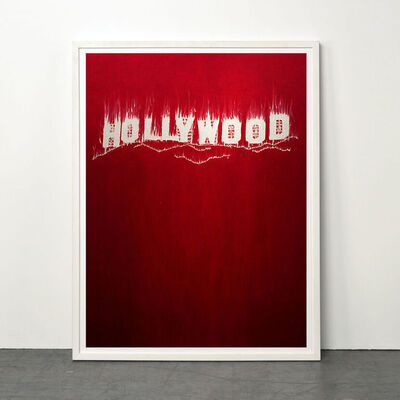 Gary Simmons, 'Hollywood', 2013