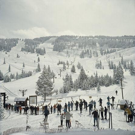 Slim Aarons, 'Skiing In Vail', 1964