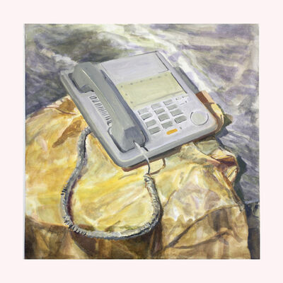 Margaret Harrison, 'Beautiful Ugly Telephone ', 2004