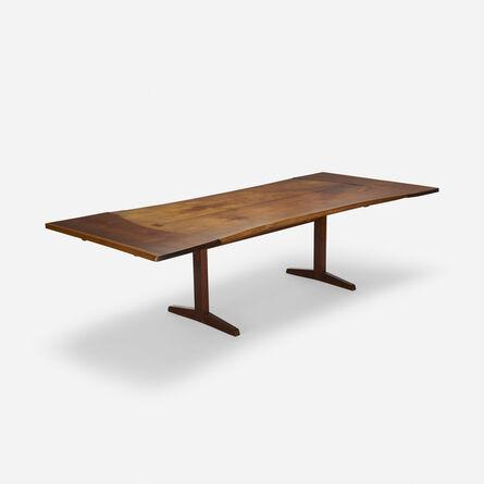 George Nakashima, 'Trestle dining table', 1959