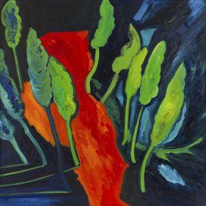 Mimmo Germanà, 'Colata lavica', 1989