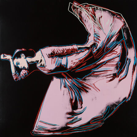 Andy Warhol, 'Letter to the World (The Kick), from Martha Graham', 1986