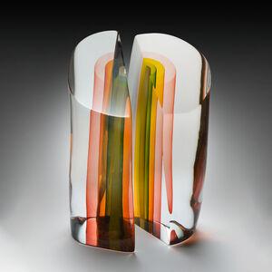 Harvey Littleton, 'Elliptical Section', 1981