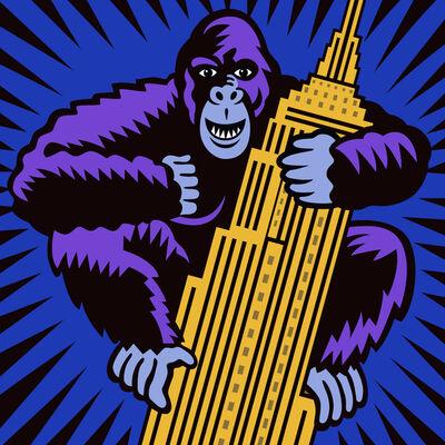 Burton Morris, 'Monkey Business', 2015