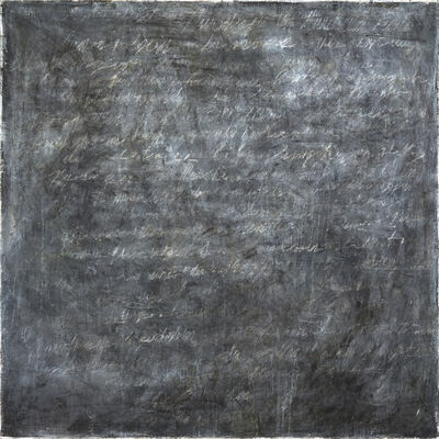 Howard Silberthau, 'Writings [Black] #5', 2016