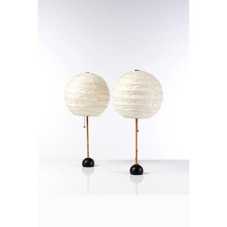 Isamu Noguchi, 'Pair of Table Lamps', circa 1960