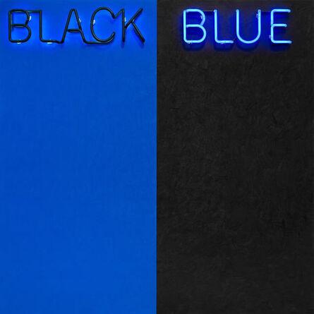 Deborah Kass, 'Black and Blue #2 ', 2015