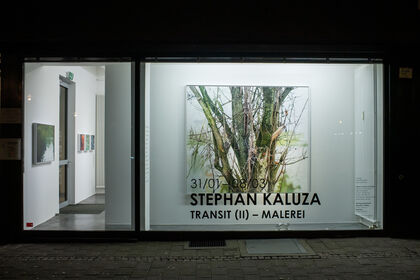 Stephan Kaluza - Transit (II). Malerei