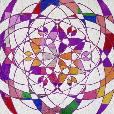 Kyle Andrew Szpyrka, 'Unity In Color 6-1', 2021