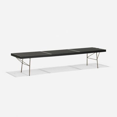 George Nelson, 'slat bench, model 4692', 1945