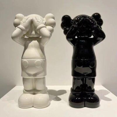 KAWS, 'KAWS:Holiday UK Ceramic Container set of 2', 2021
