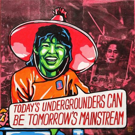 """Wunna Aung, '""""Today's Undergrounders Can Be Tomorrow's Mainstream""""', 2019"""