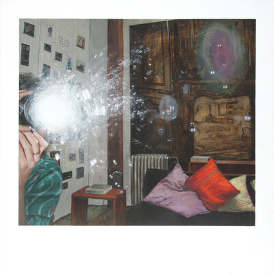 Ellen Harvey, 'My Collection Inadequately Documented/My Living-room with Walk-in', 2009