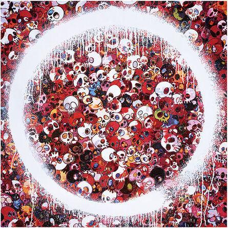 Takashi Murakami, 'Enso Memento Mori Red', 2016