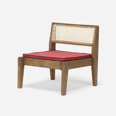 Pierre Jeanneret, 'Rare demountable low chair from the Private Residences, Chandigarh', c. 1955