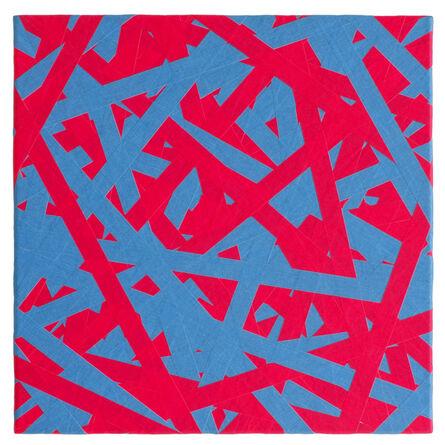 Daniel Schörnig, 'SIGNAL (blue & red)', 2018