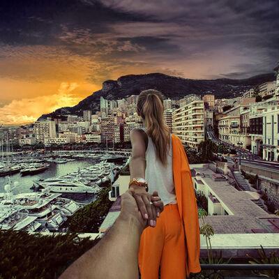 Murad Osmann, 'Monaco 1', 2013