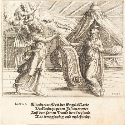 Augustin Hirschvogel, 'The Annunciation', 1548