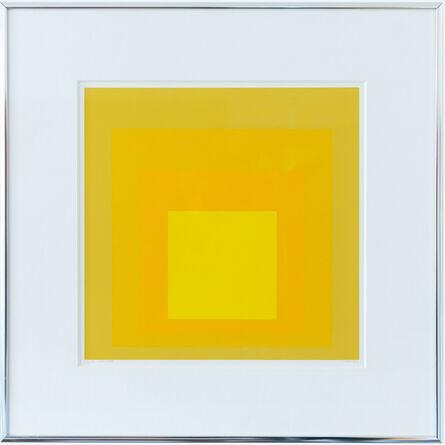 Josef Albers, 'KG', 1966