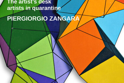 The artist's desk: artists in quarantine | PIERGIORGIO ZANGARA @valmoreart