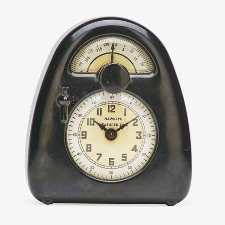 Isamu Noguchi, 'Brown clock and kitchen timer, La Porte, IN', ca. 1932