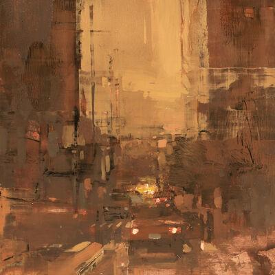 Jeremy Mann, 'Cityscape - Composed Form Study No. 28'
