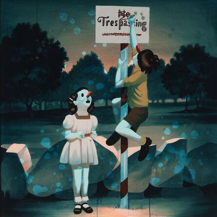 Victor Castillo, 'No Trespassing', 2011