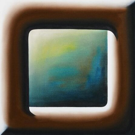 Andreas Schulze (b. 1955), 'Untitled. (Window in Wilsede)', 2018