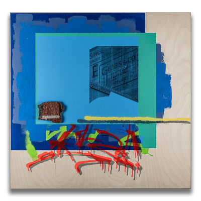 Andres Zavala, 'For Lease (7th & Broadway)', 2021