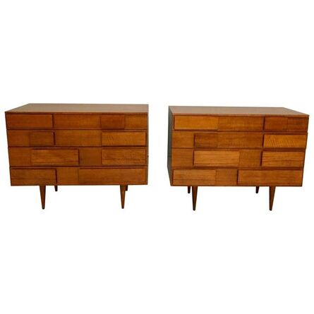 Gio Ponti, 'Pair of Gio Ponti Chests for Singer & Sons, Model 2129, circa 1955', 1955